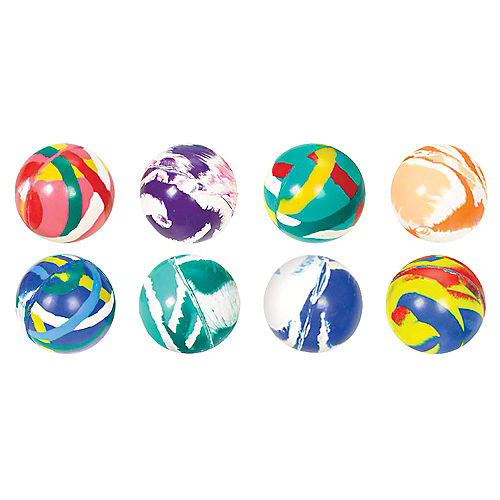 Mixed Bounce Balls 8ct Image #1