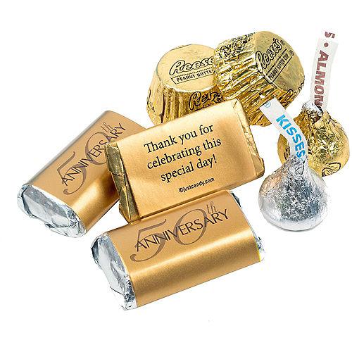 Milestone 50th Anniversary Hershey's Chocolate Mix 180pc Image #2