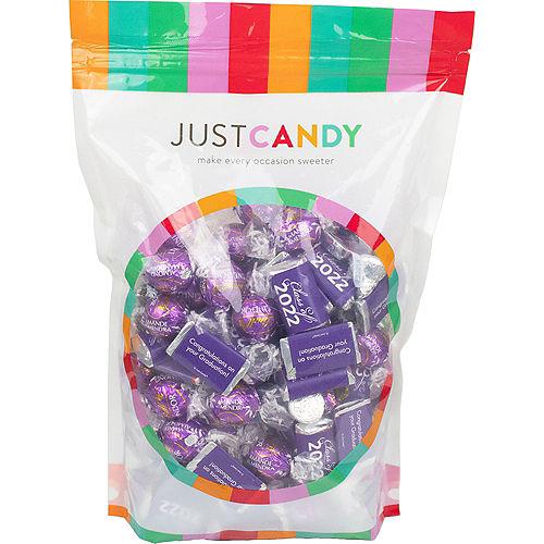 Purple Class of 2021 Graduation Hershey's Miniatures, Kisses & JC Peanut Butter Cups, 180pc Image #1