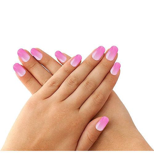Magenta Jelly Nails 10ct Image #1