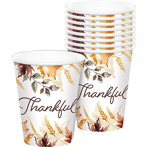 Classic Thanksgiving Paper Cups 50ct Image #1