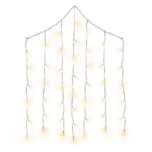 Cascading Curtain LED String Lights Image #1