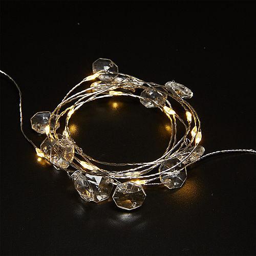 Gemstone Fairy LED String Lights Image #2