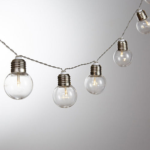 Clear Bulb LED String Lights Image #1
