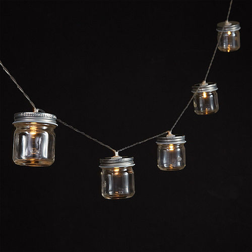 Mason Jar LED String Lights Image #2