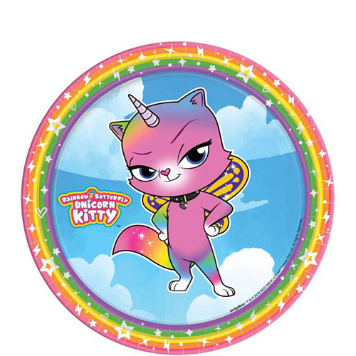 Ultimate Rainbow Butterfly Unicorn Kitty Party Kit for 24 Guests Image #2