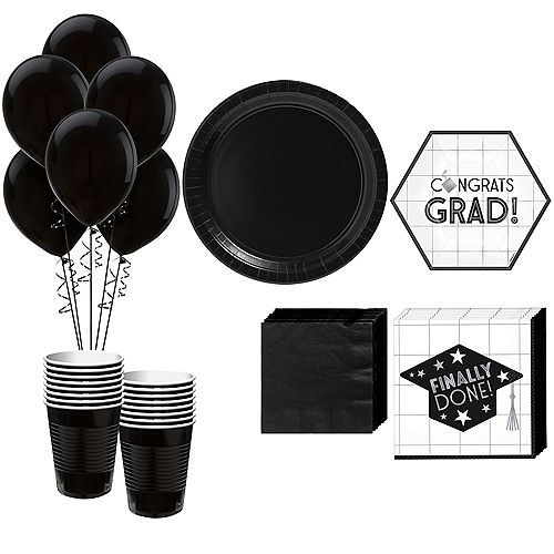 Grid Graduation Hexagon Tableware Kit for 18 Guests Image #1