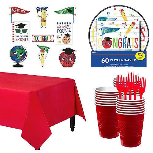 Future Dream Graduation Tableware Kit Image #1