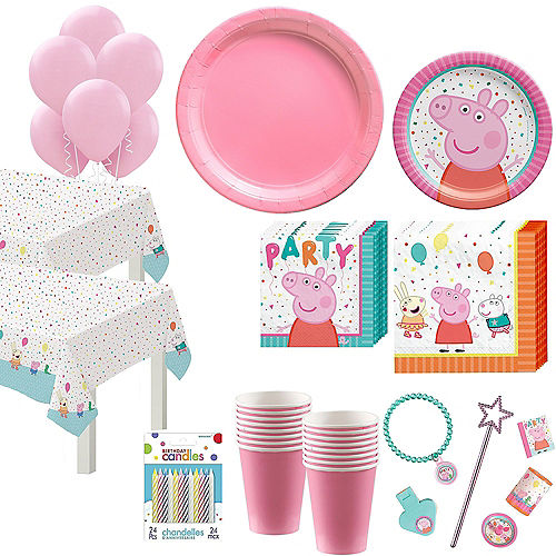 Peppa Pig Complete Tableware Kit for 16 Guests Image #1