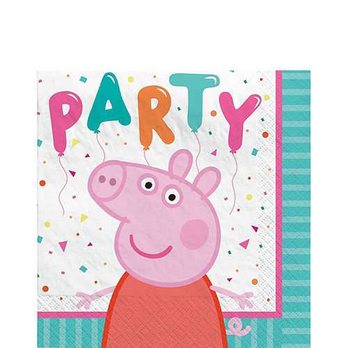 Peppa Pig Complete Tableware Kit for 16 Guests Image #4