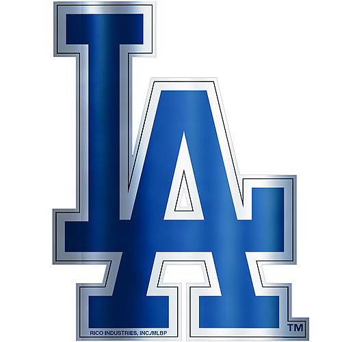 Metallic Los Angeles Dodgers Sticker Image #1