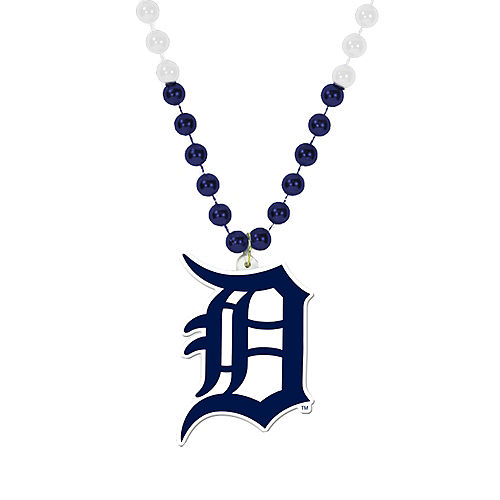 Detroit Tigers Pendant Bead Necklace Image #1