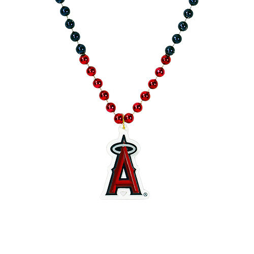 Los Angeles Angels Pendant Bead Necklace Image #1