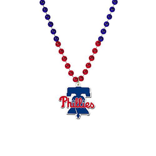 Philadelphia Phillies Pendant Bead Necklace Image #1