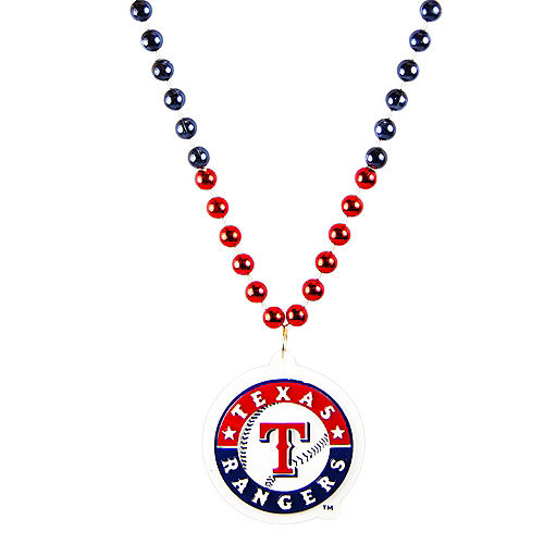 Texas Rangers Pendant Bead Necklace Image #1