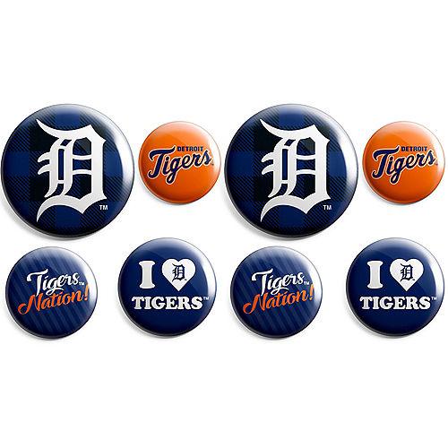 Detroit Tigers Buttons 8ct Image #1