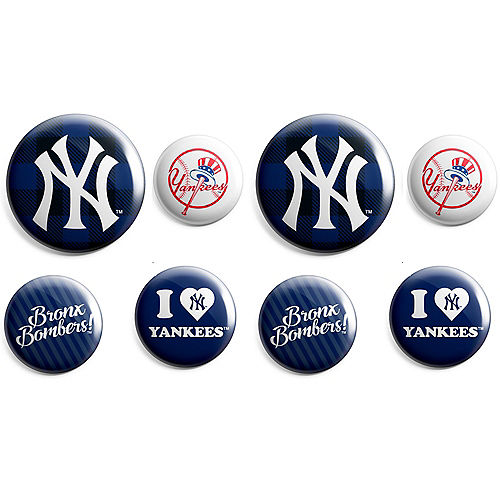 New York Yankees Buttons 8ct Image #1