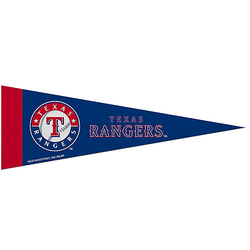 Small Texas Rangers Pennant Flag Image #1