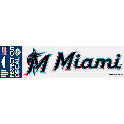 Miami Marlins Decal Image #1