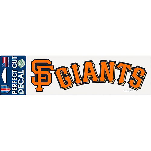 San Francisco Giants Decal Image #1
