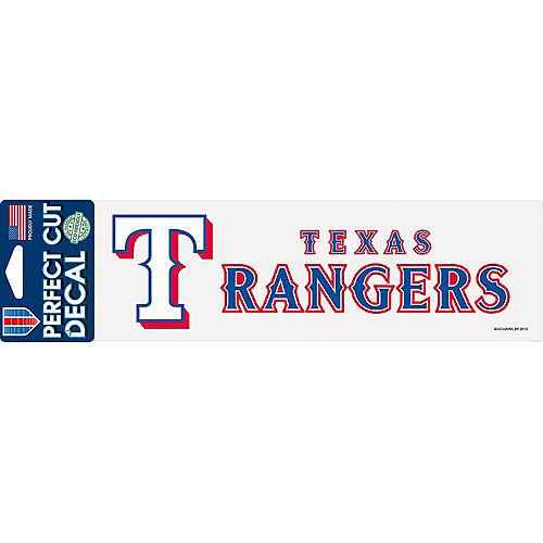 Texas Rangers Decal Image #1