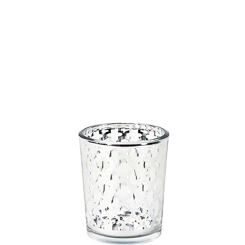 Silver Moroccan Votive Candle Holders 6ct Image #1