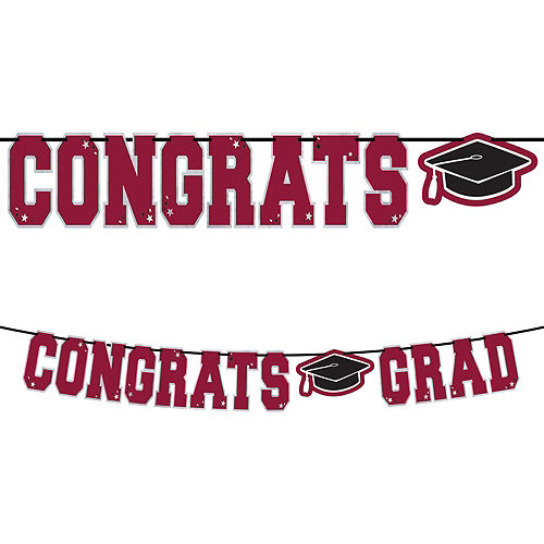 Ultimate Berry Congrats Grad Graduation Party Kit for 100 Guests Image #3