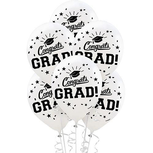 Powder Blue Congrats Grad Graduation Banner Kit Image #4