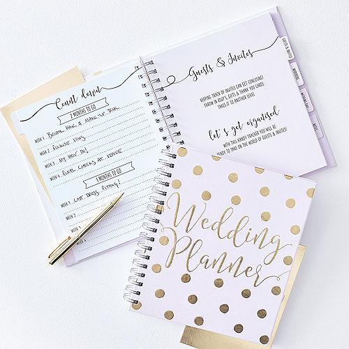 Ginger Ray Metallic Gold Wedding Planner Image #1