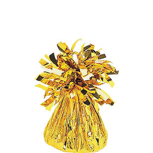 Giant Gold Grad Letter Balloon Kit Image #2