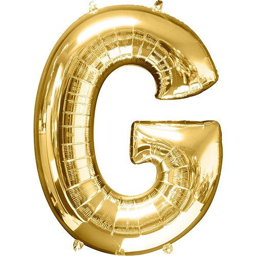 Giant Gold Grad Letter Balloon Kit Image #5