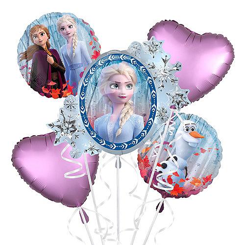 Frozen 2 Balloon Bouquet 5pc - Giant Image #1