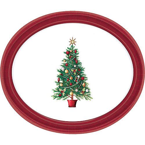 Oh Christmas Tree Oval Platter Image #1