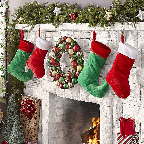 Christmas Ornament Wreath, 19in Image #2