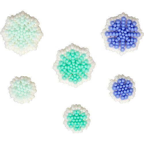 Wilton Snowflake Icing Decorations 24ct Image #1