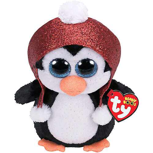 Gale Beanie Boo Penguin Plush Image #1