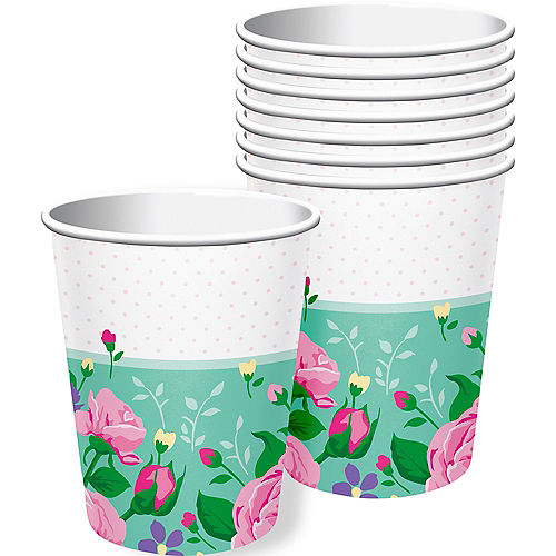 Floral Fairy Cups 8ct Image #1