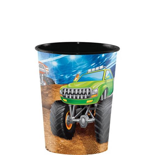 Monster Truck Favor Cup Image #1