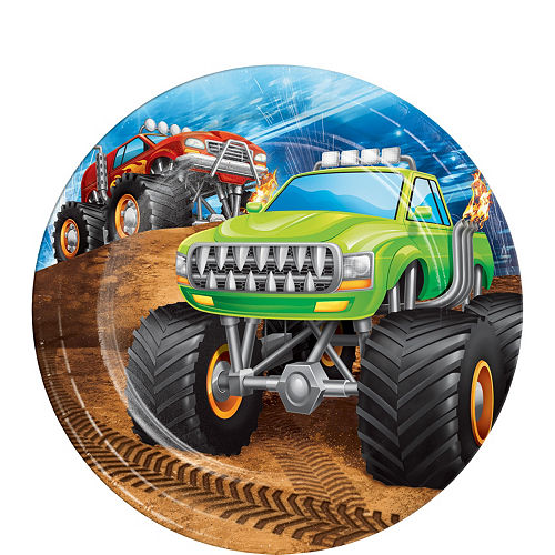 Monster Truck Tableware Kit for 24 Guests Image #2