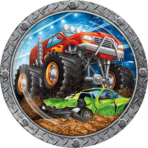 Monster Truck Tableware Kit for 24 Guests Image #3