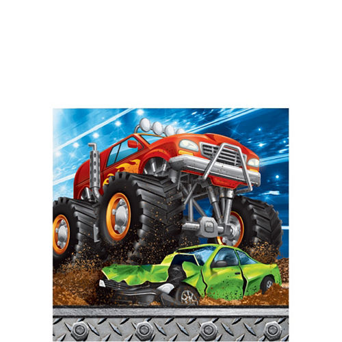 Monster Truck Tableware Kit for 24 Guests Image #5