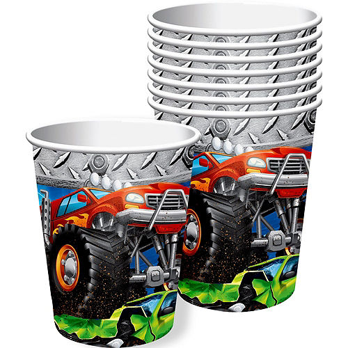 Monster Truck Tableware Kit for 24 Guests Image #7