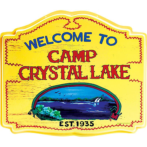 Camp Crystal Lake Sign - Friday the 13th Image #1
