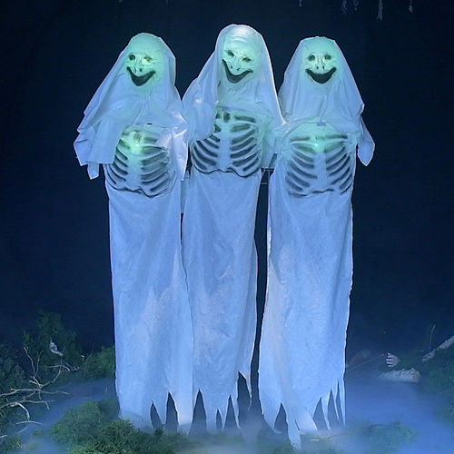 Animated Ghostly Trio Image #1