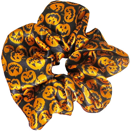 Orange Pumpkin Scrunchie Image #1