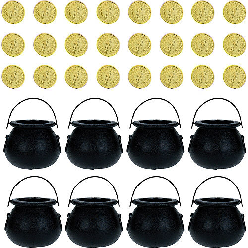 St. Patrick's Day Gold Coins Kit for 24 Guests Image #1