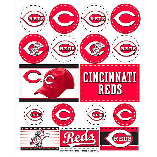 Cincinnati Reds Stickers 1 Sheet Image #1