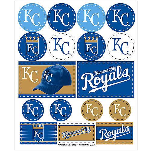 Kansas City Royals Stickers 1 Sheet Image #1