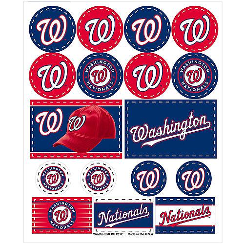 Washington Nationals Stickers 1 Sheet Image #1
