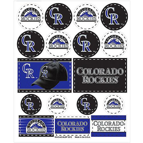 Colorado Rockies Stickers 1 Sheet Image #1